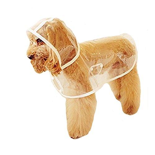 Haustier Hund Regenmantel Regen-Mantel-Jacke Wasserdicht