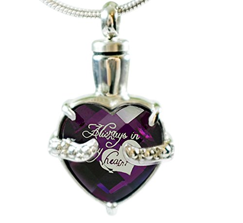 Infinity Keepsakes Cremation Urn Necklace for Ashes