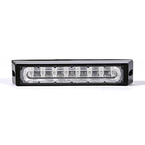 Creeper Xl Linear Led Emergency Vehicle Grill Warning Light Head (Red)