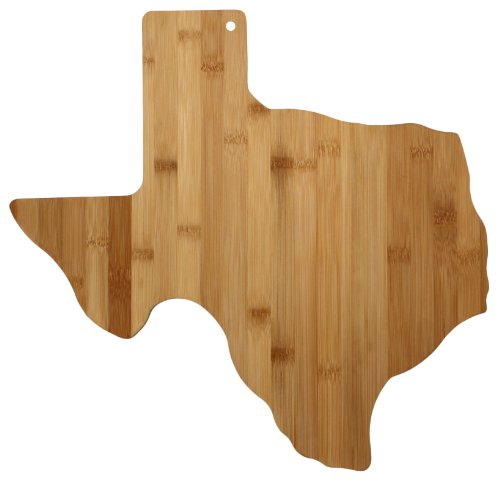 Totally Bamboo Cutting And Serving Board, Texas State