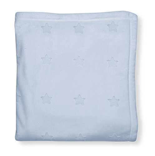 GUND Babygund Reversible On-the-go Superstar Blanket, Peek A Blue, 30'' By 40''