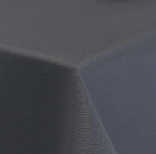 Tischdecke-hochwertiger-Damast-Stil-uni-pflegeleicht-135x180cm-oval-anthrazit