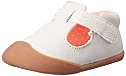 Carter\'s Every Step Amy Stage 1 Crawl Walking Shoe (Infant), White, 3 M US Infant