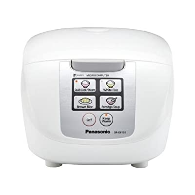 Panasonic Sr-Df101 Fuzzy Logic Rice Cooker (5 Cup) from Panasonic