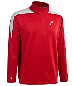 Cincinnati Succeed 1 4 Zip Performance Pullover by Antigua