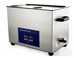 JeKen 30L Large Capacity Ultrasonic Cleaner PS-100A with Timer & Heater Without Basket 110V