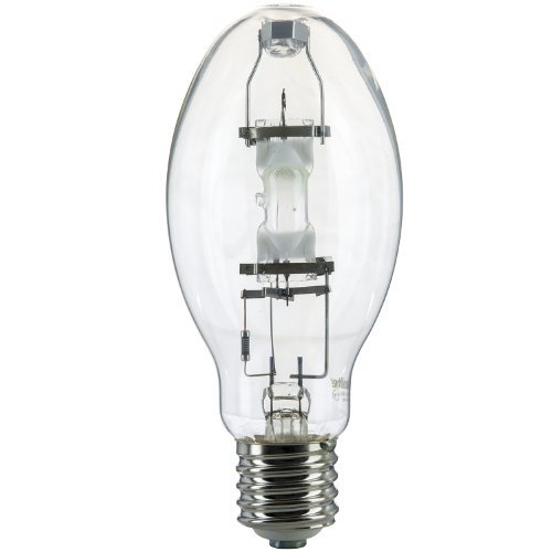 Sunlite MH175/U/MOG 175-Watt Metal Halide Bulb, Mogul Base, Clear by Sunlite