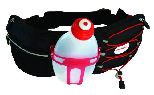 FuelBelt Fuelbelt R1Outdoor Revenge Hydration Belt (Red, One Size)
