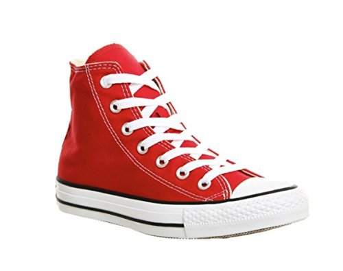 Karmaloop Converse The Chuck Taylor All Star Core Hi Sneaker Black (12 D(M) US, Red)