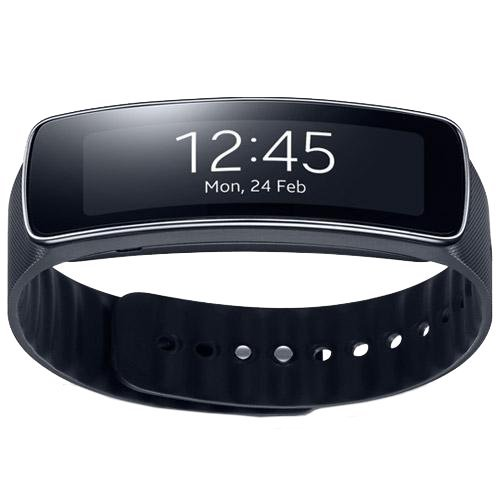 Smartwatch, reloj inteligente. Samsung Gear Fit, color negro