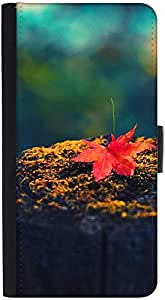 Snoogg Autumn Sunsetdesigner Protective Flip Case Cover For Htc Desire 816