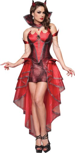 InCharacter Costumes Devilicious, Red, Small