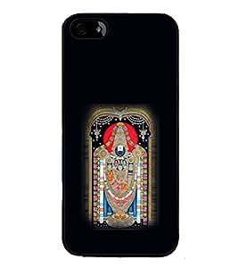 iFasho Tirupati Balaji Back Case Cover for Apple iPhone 5