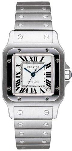 CARTIER SANTOS W20098D6-Orologio da polso da uomo, orologio)