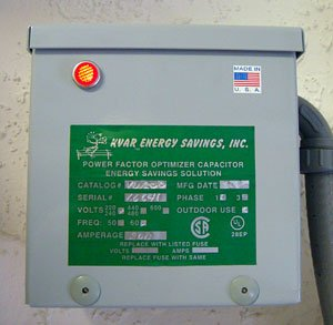 Kvar Energy Saving Controller Save 8% To 10% Per Month On Your Electric Bill ! For Your Home !