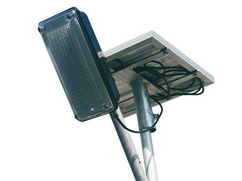 MAZDA ENERGY Solar Street Light Full System . PANEL + BATTERY + LIGHT All Included