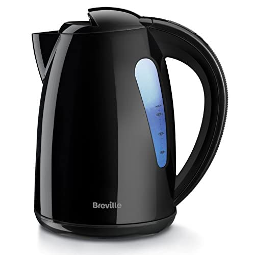 Breville VKJ557 Illuminated Plastic Jug Kettle, Black