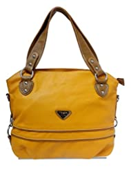 Young & Forever Hollywood Inspired Yellow Handbag for Women