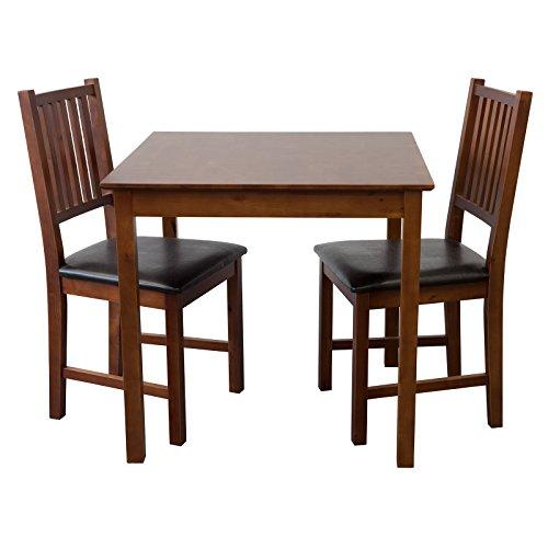 Tischgruppe-Tisch-LUCCA-Tisch-2-Sthle-Birke-massiv-Nussbaum-Essgruppe