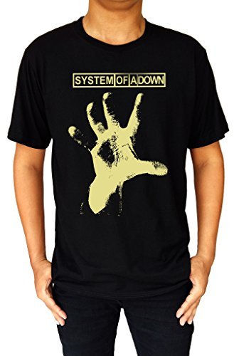 system-of-a-down-soad-metal-band-hand-logo-mens-t-shirt-medium-black