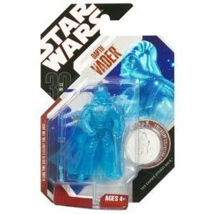 Star Wars Darth Vader 30Th Anniversary Holographic Figure #48 - 1