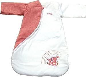 PurFlo SleepSac 1.0 Tog Bunny (Pink, 0 - 3 Months)