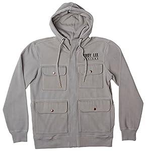 Troy Lee Designs Zip-Hoody Inferno Gray XL