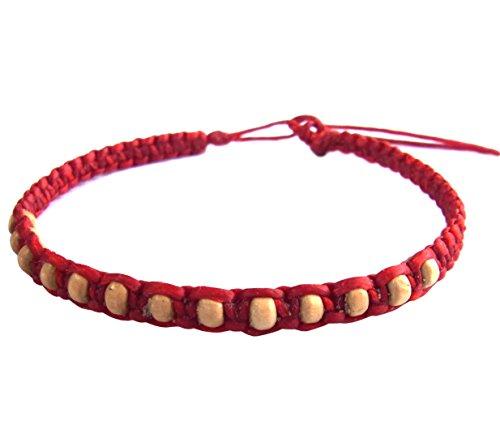 artisan-handgefertigt-unisex-modische-armband-weiss-holz-beads-rot-wachs-schnur