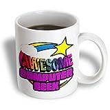 3dRose mug_201250_1 Shooting Star Rainbow Awesome Computer Geek Ceramic Mug - 11-Ounce - White