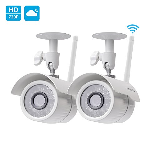 Zmodo 720p HD Outdoor Home Wireless Security Surveillance Video Cameras System (2 Pack) (Outdoor Wireless Ip Camera compare prices)