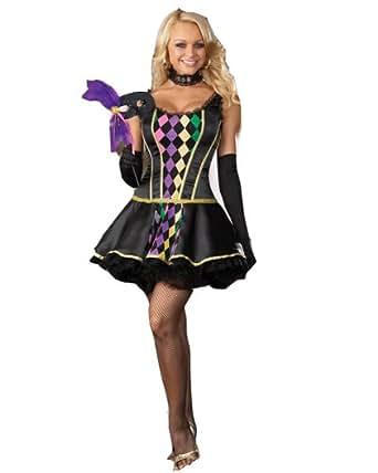 Amazon.com: Dreamgirl - Mardi Gras Masquerade Adult ... - photo #3