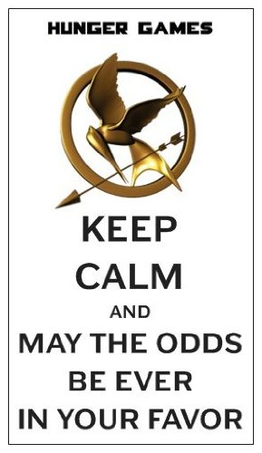 Magnet: HUNGER GAMES - Keep Calm And May The Odds Be Ever In Your Favor