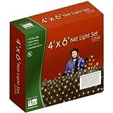 Holiday Wonderland 150-Count Clear Christmas Lights Net Light/ Tree Wrap 6X4 Feet