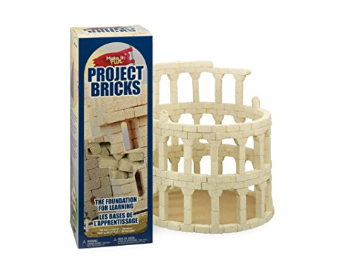 FloraCraft Styrofoam Kits, Make It Fun: Project Bricks Sand (Building Projects compare prices)