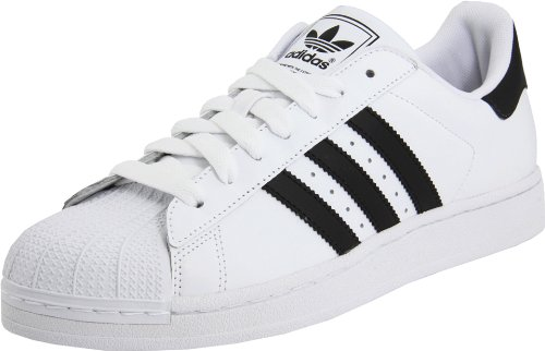 Adidas - Superstar Ii Mens Shoes In White / Black / White, Size: 7.5 UK, Color: White / Black / White