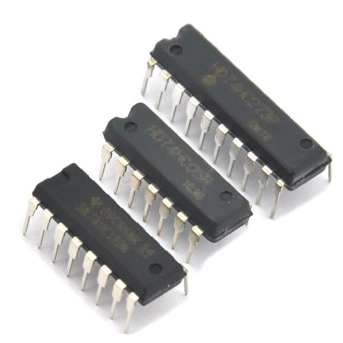 Generic COMS Logic IC 4022, 5 Pieces, DIP Package.CMOS Octal Counter with 8 Decoded Outputs