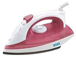 Boss Impress B310 1250-Watt Steam Iron (Red)