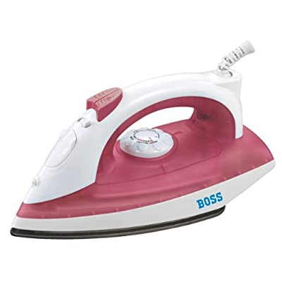 Boss Impress B310 1250-Watt Steam Iron (Red)