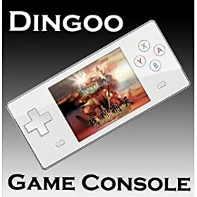 Dingoo Digitial A320 Emulator Game Console MP3 MP4 Media Player LCD 2.8 inch with pouch & silicon case