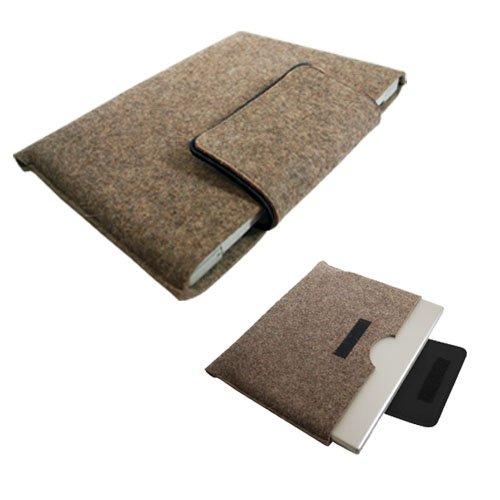 Gray with Black Trim Laptop Sleeve 15