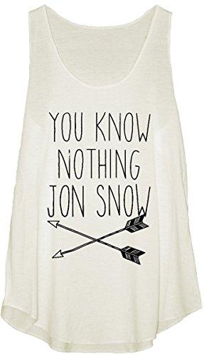 Trend -  T-shirt - Con spalline  - ragazza Bianco bianco