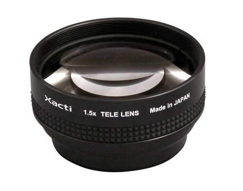Sanyo VCP-L15TU 1.5x Telephoto Adapter Lens for Sanyo FH1, TH1 Camcorders