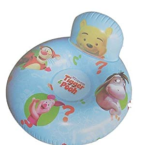 Winnie-The-Pooh Winnie The Pooh & Tigger Inflatable Pvc Donut Chair from Trademark Collections