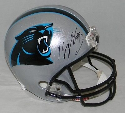 Kelvin Benjamin Autographed Signed Carolina Panthers Full Sized Helmet (authenticated by JSA)