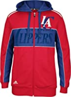 Los Angeles Clippers Adidas the Chosen Few Full Zip Hooded Sweatshirt by adidas