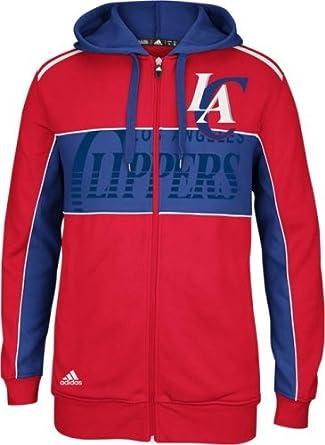 Los Angeles Clippers Adidas the Chosen Few Full Zip Hooded Sweatshirt by adidas
