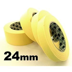 Masking Tape - High Performance - INDASA, 24mm x 50 Meters, Automotive Paint / Bodyshop