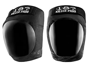 187 Killer Pro Black Knee Pads - Made by 187 Killer Pads for Roller Derby Skaters,... by 187 Killer Pads