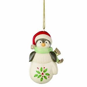 Lenox Holiday Penguin Ornament