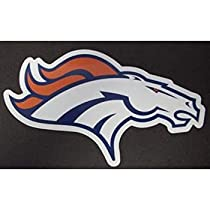 Denver Broncos Team Logo NFL Car Magnet